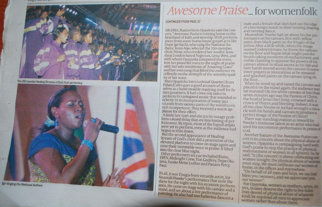 Guardian Newspaper Article Page 2